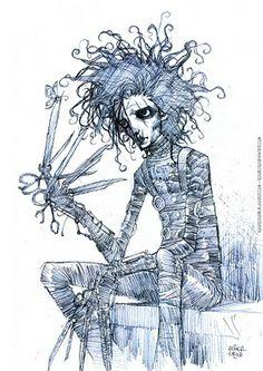 ROGER CRUZ BLOG: Edward scissorhands
