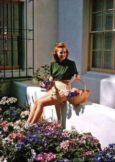 Maureen O'Hara, Ireland, Irish, American, film, cinema, movies, Oscars, John Wayne, Hollywood, The Quiet Man, Miracle On 34th Street, actress, retro, vintage.
