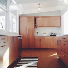 mod wood kitchen