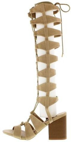 be76663e31 Ane2 Nude Jelly Lace Up Gladiator Boot. Gladiator BootsGladiatorsWholesale  Fashion ShoesFashion HeelsChunky ...
