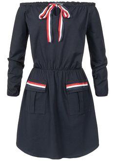 Oui Pullover Streifen Vintage Look rotrosa | Dress for less