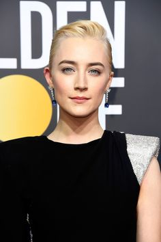 Saoirse Ronan Photos - Actor Saoirse Ronan attends The 75th Annual Golden Globe Awards at The Beverly Hilton Hotel on January 7, 2018 in Beverly Hills, California. - 75th Annual Golden Globe Awards - Arrivals