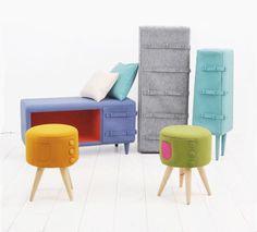 Dressed up Furniture Series  Korean Designer Studio KamKam