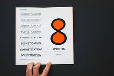 Flirty Sophistication — Caecilia Type Specimen Book on Behance