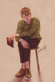 Remus Lupin by UpTheHill