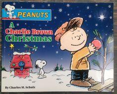 CHARLIE BROWN CHRISTMAS Children's Book Peanuts by WUNDERSTUFF