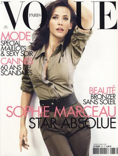 Sophie Marceau, Vogue Paris, May