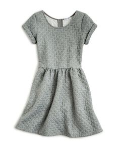 Splendid Girls' Textured Knit Dress - Sizes 7-14