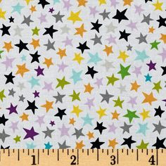Riley Blake Too Cute to Spook Stars Multi