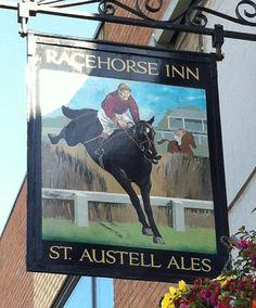 Pub Sign Art a la cARTe: The Racehorse Inn - Taunton, Somerset
