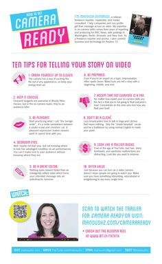 Have your camera ready - 10 tips for telling your story on video