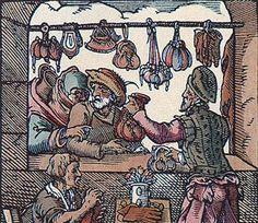 1568, Germany, Der Beutle by Jost Amman, Wikimedia Commons
