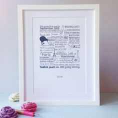 Every love story is beautiful... But ours is my favourite.  Personalised hand drawn love story by AlfieWinn