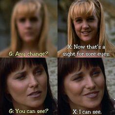 Xena and Gabrielle