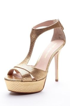Metallic Heels / Pour La Victoire Design works No.2154  2013 Fashion High Heels 