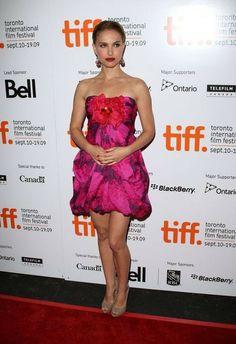 Toronto Film Festival, Strapless Dress Formal, Formal Dresses, Natalie Portman, International Film Festival, Star Fashion, Ontario, Me Too Shoes, Beautiful Celebrities