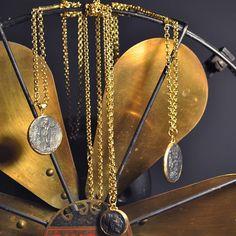 Monapetra medallions #monapetrajewelry #gold #historicalcoins