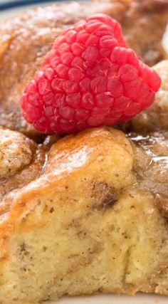 Overnight Monkey Bread French Toast Casserole