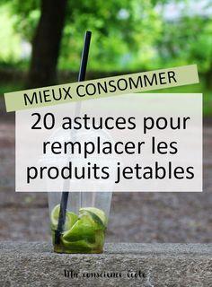 Comment remplacer les objets jetables par des produits durables dans votre quotidien ?