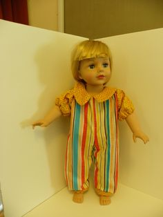 """Summer doll outfit for the 18"""" doll"""