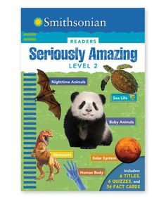 This Smithsonian Readers: Seriously Amazing Level 2 Hardcover is perfect! #zulilyfinds