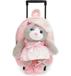 ae61f4348c2 Main Image - Popatu  Ballet Kitty  Rolling Backpack (Kids) Children s Place,