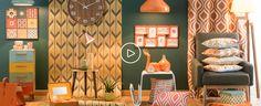 Tendance déco Seventies : idée déco et shopping | Maisons du Monde