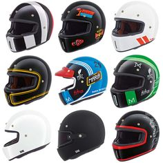 Nexx XG100 Retro Cafe Racer Full Face Motorcycle Helmet | All Colours & Sizes | Vehicle Parts & Accessories, Clothing, Helmets & Protection, Helmets & Headwear | eBay!