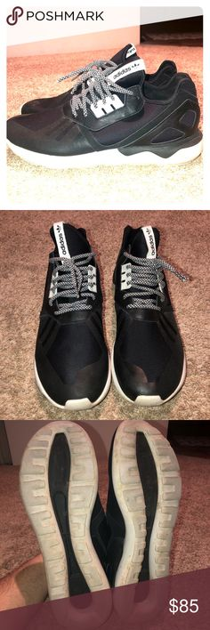 free shipping 601f6 8a61e Adidas Tubular Runner size 12 Great condition No box included Rope lace  supply laces included 9