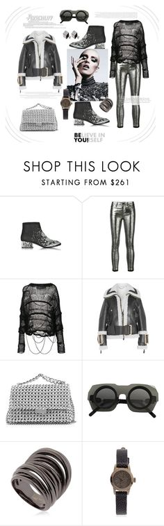 """Be you!!!"" by zabead ❤ liked on Polyvore featuring McQ by Alexander McQueen, RtA, ISABEL BENENATO, Burberry, STELLA McCARTNEY, Kuboraum, Federica Tosi, Christian Koban and Vita Fede"