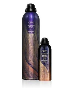 Nature's solution for sexy, tousled hair is to take a dip in the sea. Oribe's Aprés Beach Wave and Shine spray helps recreate those waves when you're not hanging out at the beach. It provides soft texture and manages to give even the straightest hair waves and volume.