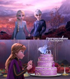 Elsa and Jack Frost - Jelsa - Frozen 2 2019 on We Heart It Disney Princess Facts, Disney Princesses And Princes, Princess Movies, Pocket Princesses, Disney Princess Frozen, Elsa Frozen, Sailor Princess, Jelsa, Modern Disney Characters