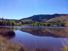Wonderland Lake on a picture perfect Fall day #boulder #colorado