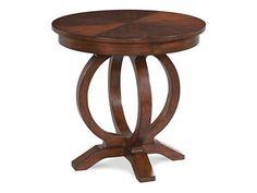 Fairfield Chair Company Living Room Chair side Table 8105-CS - Gibson Furniture - Andrews, NC