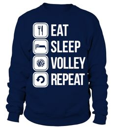 eat sleep volley repeat    Volleyball T Shirt  #volleyball #volleyballmom #mom #shirt #tshirt #tee #gift #perfectgift #birthday #Christmas #motherday