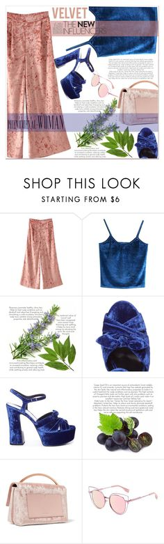 """""""Lets velvet"""" by nerma10 ❤ liked on Polyvore featuring Yves Saint Laurent and Eddie Borgo"""