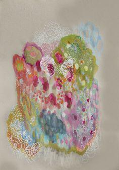 """Saatchi Online Artist: Lia Porto; Paper, 2013, Mixed Media """"No place 3"""""""