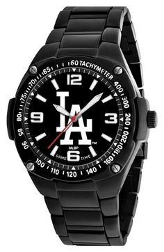 Men's Game Time Watches 'MLB Gladiator - Los Angeles Dodgers' Bracelet Watch