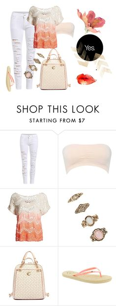 """""""free fall"""" by fashionfinesse-572 ❤ liked on Polyvore featuring M&Co, Superdry, Forever 21 and Roxy"""