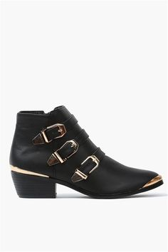 Party Ankle Boots in Black