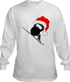 Christmas Special Edition For a limited time only we have taken one of our most popular designs and transformed it into a special Christmas edition. Get your T-Shirt, Hoodie, Christmas Ornament http://www.cafepress.com/whatisaw/10827421 and at our zazzle store.  #crossfit #reebok #mma #lifting #weightlifting #barbell #Iron #olympic #ink #tattoo #fitness #sport #WOD #plates #kettlebell #kettelbell #Christmas #gift #RKC #unconventional #gear #t-shirt #ornament