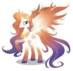 Queen Galaxia (princess celestia and luna's mom)