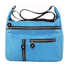 Crossbody Bags At Kohl 8217 S Women Nylon Multilayer Zipper Pockets Shoulder Outdoor
