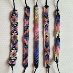 Métier à tisser amitié Bracelet de perles par MichikoJewelry