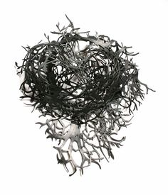 """""""Amandine Meunier  Necklaces: Forests and Nests 2012  Inner tube"""""""