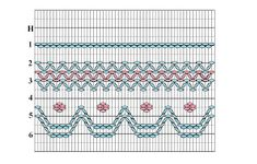 Free Geometric Smocking Plates Smocking Baby, Smocking Plates, Smocking Patterns, Sewing Patterns, Skirt Patterns, Coat Patterns, Blouse Patterns, Sewing Hacks, Sewing Crafts