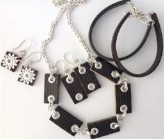 How to Make Recycled Jewelry from a Leather Belt | AllFreeJewelryMaking.com