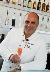 Talking cocktails (and PBR) with bartending legend and author Tony Abou-Ganim. Photo courtesy of modernmixologist.com