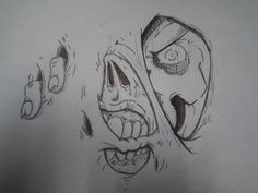 Zombie drawing - Picture