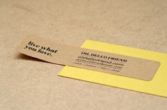 Diy kraft paper business cards gallery card design and card template diy business cards paper image collections card design and card star wars inspired forever paper roses reheart Choice Image